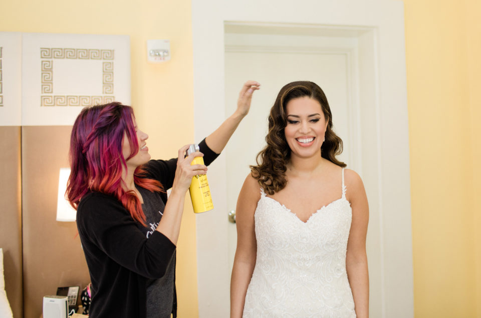 Bridal Hairstyling (Sept. 21 – Oct. 21)